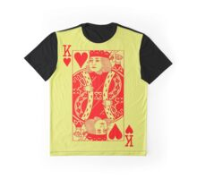 KING OF HEARTS-RED Graphic T-Shirt