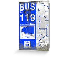 DIRTY BUS GUIDE FOR SILENT HILL Greeting Card