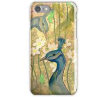 Peacock Garden iPhone Case/Skin