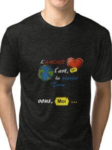 Tout s'achete Tri-blend T-Shirt