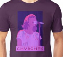 CHVRCHES Art - Neon Lauren Mayberry Unisex T-Shirt