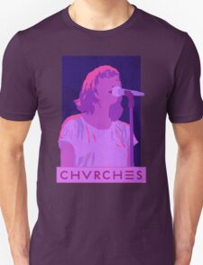 CHVRCHES Art - Neon Lauren Mayberry T-Shirt