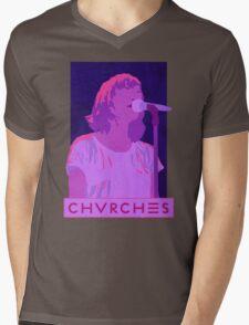 CHVRCHES Art - Neon Lauren Mayberry Mens V-Neck T-Shirt
