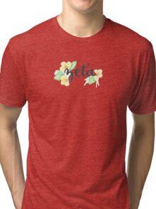 Zeta Tau Alpha Violets Tri-blend T-Shirt