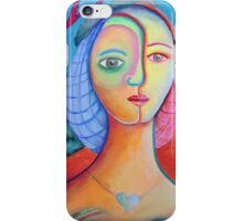 French Lady iPhone Case/Skin