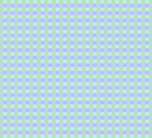Plaid Design Green Violet by Vitta