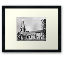 Anwick Church, Sleaford Framed Print