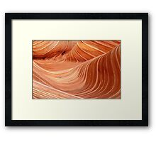 The Wave, Arizona Framed Print