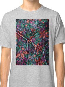Vintage Trendy Floral Pattern Classic T-Shirt