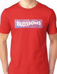 Blossoms Band Nice Design Flowers Unisex T-Shirt