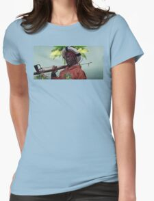 Captain Yachty Womens Fitted T-Shirt