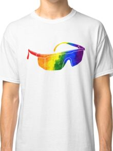 Rainbow Safety Glasses Classic T-Shirt