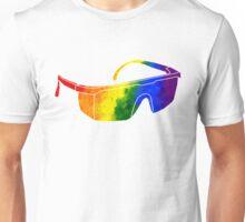 Rainbow Safety Glasses Unisex T-Shirt