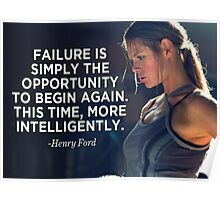 Failure Is An Opportunity To Change Again Poster