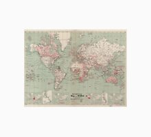 Vintage Map of The World (1918)  Unisex T-Shirt