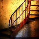 The Light on the Staircase............. by Imi Koetz