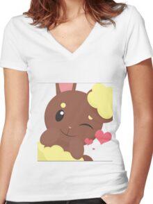 Pokemon - Laporeille Women's Fitted V-Neck T-Shirt