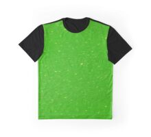 Lime Green Glitter Graphic T-Shirt