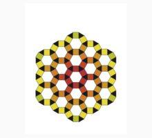 warm hexagons One Piece - Short Sleeve