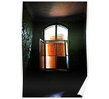 The barricade Window........... Poster