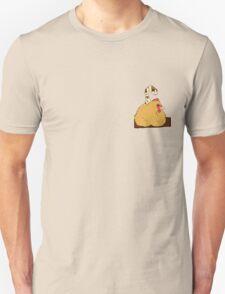 Gold Nesting Cockatrice Unisex T-Shirt