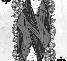 GAME OF THRONES QUEEN CATELYN STARK by jozvoz