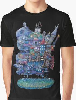 Fandom Moving Castle Graphic T-Shirt