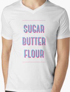 """""""Sugar Butter Flour"""" - Waitress Mens V-Neck T-Shirt"""