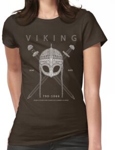 Viking Design Womens Fitted T-Shirt