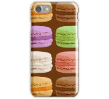 French Macarons, Multi-Colored Pastels iPhone Case/Skin
