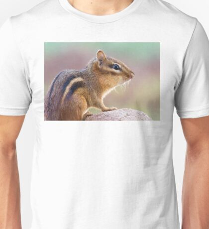 Chipmunk Portrait Unisex T-Shirt