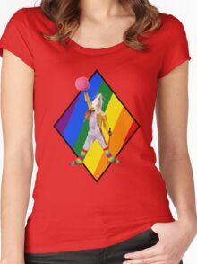 Freddie Mercury Is Everything Women's Fitted Scoop T-Shirt