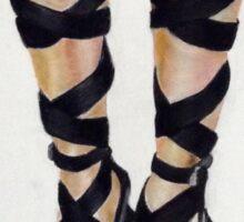 Fashion 1: High-Heeled Boots Sticker