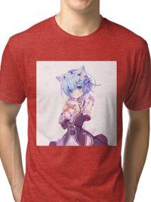 Re:Zero kara Hajimeru Isekai Seikatsu - Rem Tri-blend T-Shirt