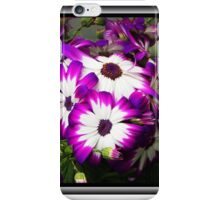 Purple & White Flowers iPhone Case/Skin