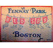 Boston Red Sox - Fenway Park Photographic Print