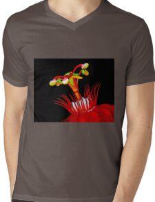 Flower Close-Up Mens V-Neck T-Shirt