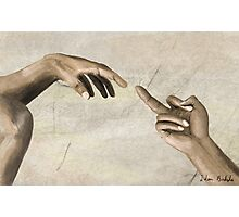 The (creation of the) Finger Photographic Print
