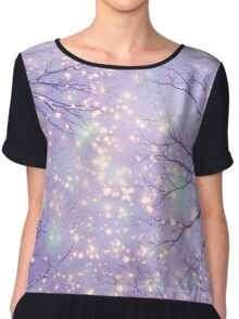 Each Moment of the Year Has It's Own Beauty Chiffon Top