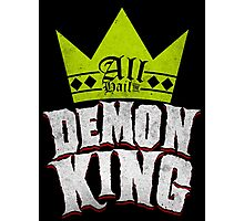 All Hail The Demon King Photographic Print