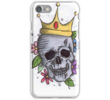 Kaki Needledwarf against 08/15 Tattoos / Skull  iPhone Case/Skin