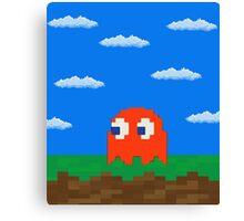 Blinky's 2D World Canvas Print