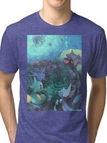 Pokémon - Water type Tri-blend T-Shirt