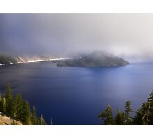 Wizard Island - Crater Lake National Park Photographic Print