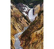 Grand Canyon of the Yellowstone Photographic Print