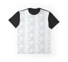 Pastel Peacock Graphic T-Shirt