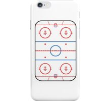 Ice Rink Diagram Hockey Game Companion iPhone Case/Skin