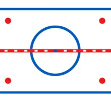 Ice Rink Diagram Hockey Game Companion Sticker