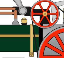 Mamod Steam Engine Tractor Design Sticker