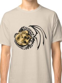 Dungeons and Dragons - Black and Gold! Classic T-Shirt